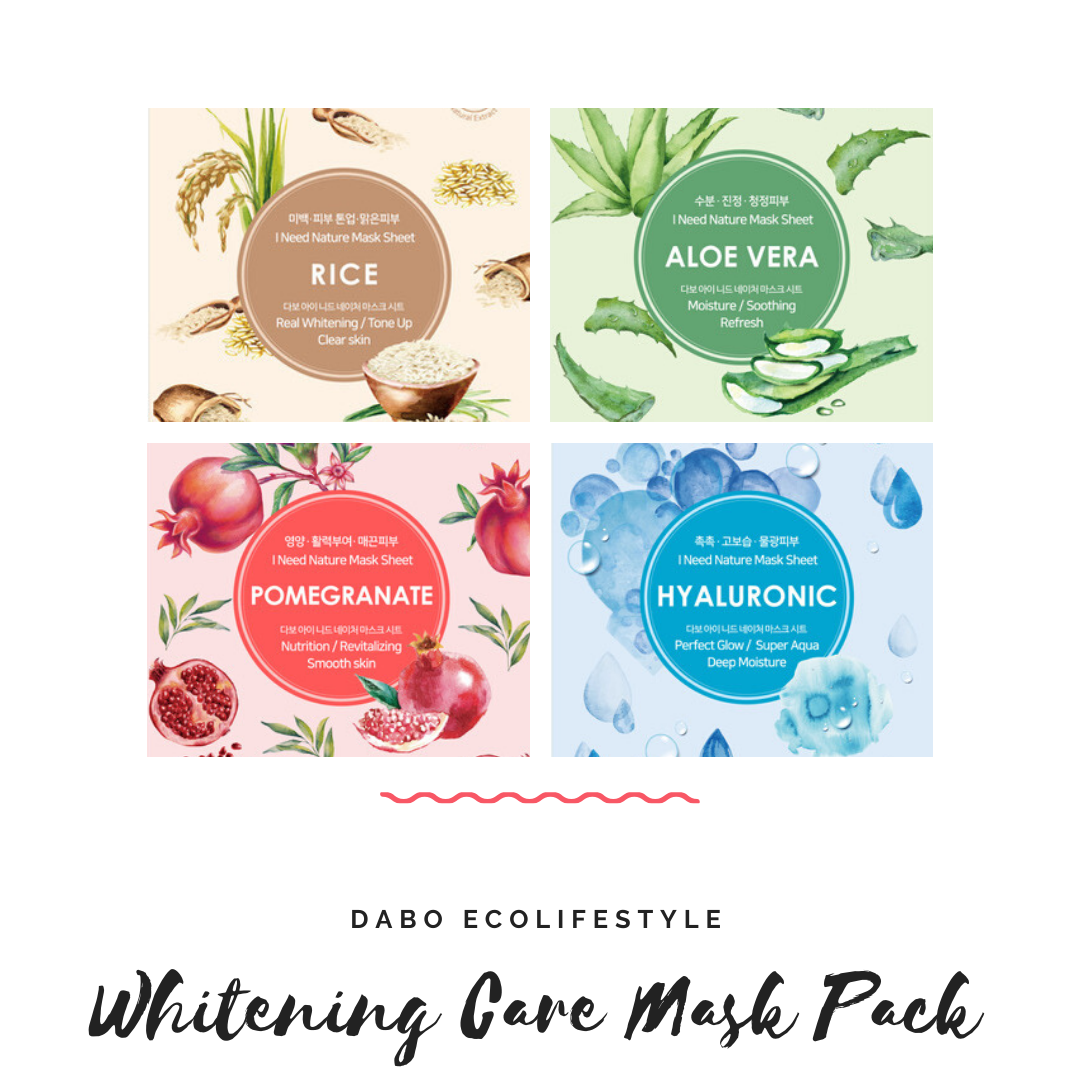 DABO Whitening Care Mask Pack